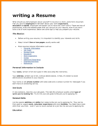11 What To Put In A Resume Job Apply Form