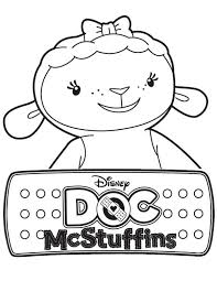 Small Picture Doc McStuffins Coloring Pages Best Coloring Pages For Kids