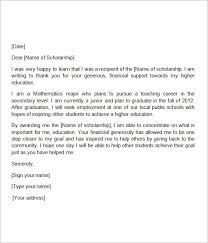 scholarship thank you letter awesome sample scholarship thank you letter 11 documents in pdf word of scholarship thank you letter