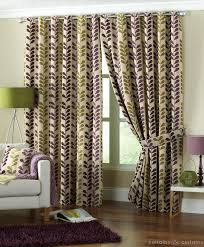 Purple Curtains For Living Room Add Fashion To Your Room With Purple Green Curtains Best