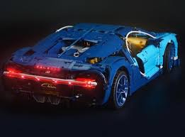 The bugatti model car measures over 5 inches (14cm) high, 22 inches (56cm) long and 9 inches (25cm) wide. Experience Thrill Like Never Before With Light Kit For Bugatti Chiron Lightailing