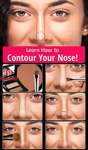 learn how to contour your nose make up nose contouring