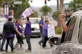 labor day under federal fire unions show solidarity in monterey bay santa cruz sentinel