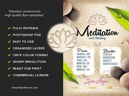 Spa Brochure Template Enchanting Reiki Flyer Templates Ncsquad