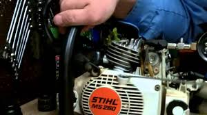 Stihl Chainsaw Compression Readings On A New Or Rebuilt Engine Ms260 026 Pro