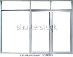 glass door for office. office glass door and window into room with copy space for