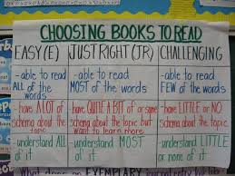 Choosing Books Anchor Chart Like That It Talks About More