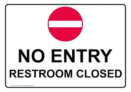 printable bathroom sign. Out Of Order Bathroom Sign Printable .