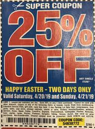 Happy Easter Xbox Harbor Freight Coupon 25 Off Single Item Happy Easter Now