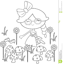 Garden Insect Coloring Page Pages Fairy Flower Secret For Adults ...