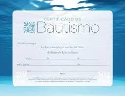Certificado De Bautismo Template Plantilla De Certificado Del Bautismo De La Iglesia