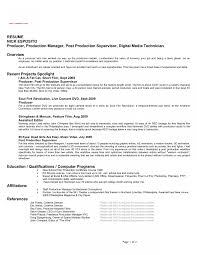 Tv Show Producer Resume Example Film Google Search Bragging Rights