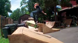 Backyard Skatepark  YouTubeHow To Build A Skatepark In Your Backyard