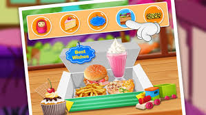 fast food maker fast food maker happy chefs meal on the app store