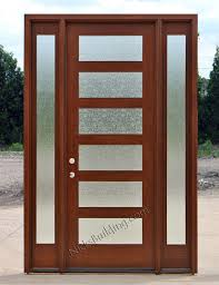 mission style front doorCraftsman Style Doors and Sidelights
