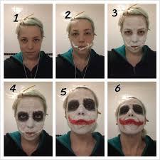 simple joker make up tutorial by chartail deviantart on deviantart