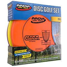 Innova Plastics Chart Innova Disc Golf Set Driver Mid Range Putter