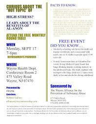 learn about family stress and how al anon can help at a free round table discussion