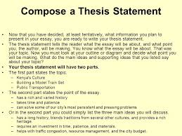 Example Of Thesis Essays Sample Of English Essay High School Personal Statement
