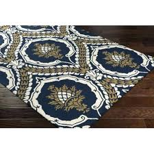 navy and gold area rug r3787 navy and gold rug home hand tufted navy blue gold