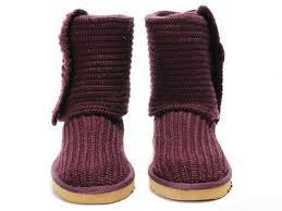 cheap women ugg classic cardy boots purple 5819