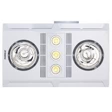 Bathroom 3 In 1 Lights Heaters Reviews Profile Plus 2 3 In 1 Bathroom Heater W Exhaust Fan 3 Led