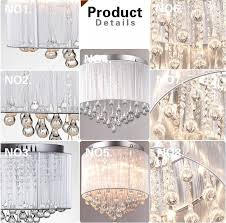 28pcs clear 20 80mm rain drop crystal wedding party decoration glass water drop prism glass