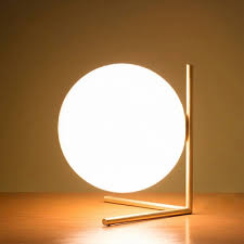 ball table lamp. support globe glass ball table lamp golden beautifulhalo
