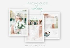 Photography Pricing Template Free Pricing Guide Template For Wedding Photographers