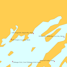 Little Flying Point Maquoit Bay Maine Tide Chart