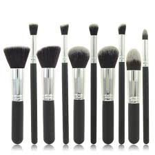 aliexpress brand makeup brushes for women 10pcs beauty cosmetics set of brushes for make up contour kit with powder foundation brush from reliable