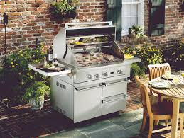 new viking professional outdoor grills create the ultimate outdoor kitchen