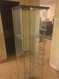detolf glass door cabinet ikea 43x163