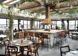 David Burke Kitchen The Garden Shoreditch House Rooftop Restaurant