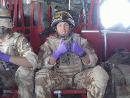 i walked out covered in a young girl s blood one solr s struggle with ptsd and the ministry of defence the independent
