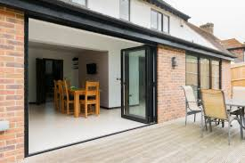 bifold patio doors. Incredible Bi Fold Patio Doors Collection Bifold Or Sliding Pictures Home Decoration Ideas Residence Remodel