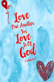 Love one another, for love is of God: Bible Verse Quote Cover Composition  Notebook Portable by Journals For All, Paperback | Barnes & Noble®