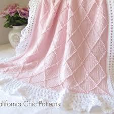 Baby Blanket Knitting Patterns Free Downloads Impressive Shop Baby Knitting Patterns To Download On Wanelo