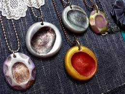 how to make fingerprint jewelry variations