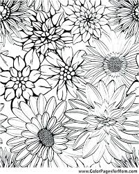 garden flowers coloring pages flower coloring books big coloring pages of flowers big flower coloring pages