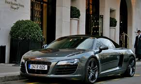 black audi r8 spyder. luxury black audi r8 spyder