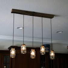 5 light diy mason jar chandelier rustic cedar