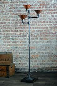 industrial style floor lamp uk lamps incredible let s stay regarding copper shade rustic pipe vintage industrial style floor lamp uk
