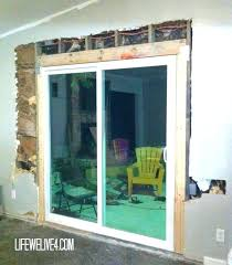 converting sliding doors to french doors cost to replace sliding door with french doors large size