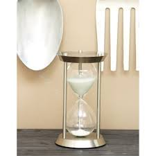 litton lane 60 minute ute hourglass 7 in x 12 in sand timer