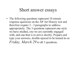 Short Essay Examples Free Short Essay Example Sample Short Descriptive Essay Short Answer
