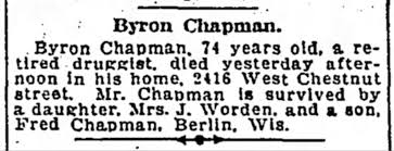 Byron Chapman (1844-1919) - Find A Grave Memorial
