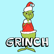 how to draw the grinch from dr seuss with easy step by step drawing lesson