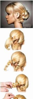 Coiffure Facile Cheveux Court A Faire Soi Meme Coiffure