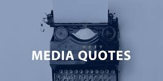 Journalism Quotes Beauteous 48 Inspiring Media Quotes Journalism Public Relations and Visual